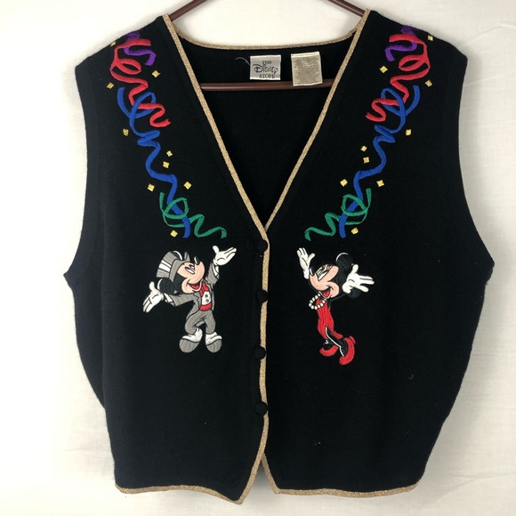 adb5ea7a6 Name Your Price Minnie and Mickey Sweater Vest
